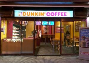 franquicias baratas dunkin coffee