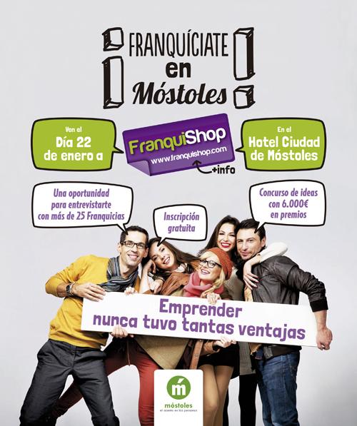 Franquishop  Mostoles una cita para comenzar el año - Franquinews 903b0fb961a8b